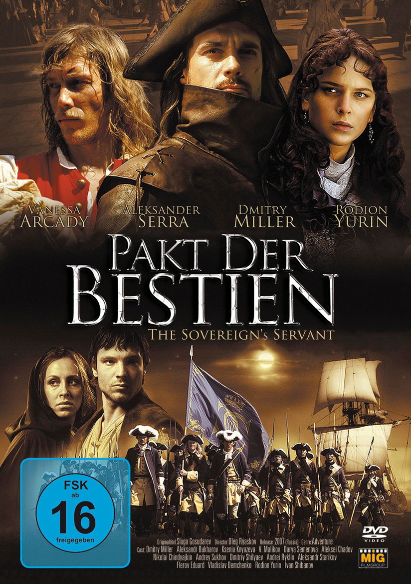Cover - Pakt der Bestien - The Sovereign's Servant