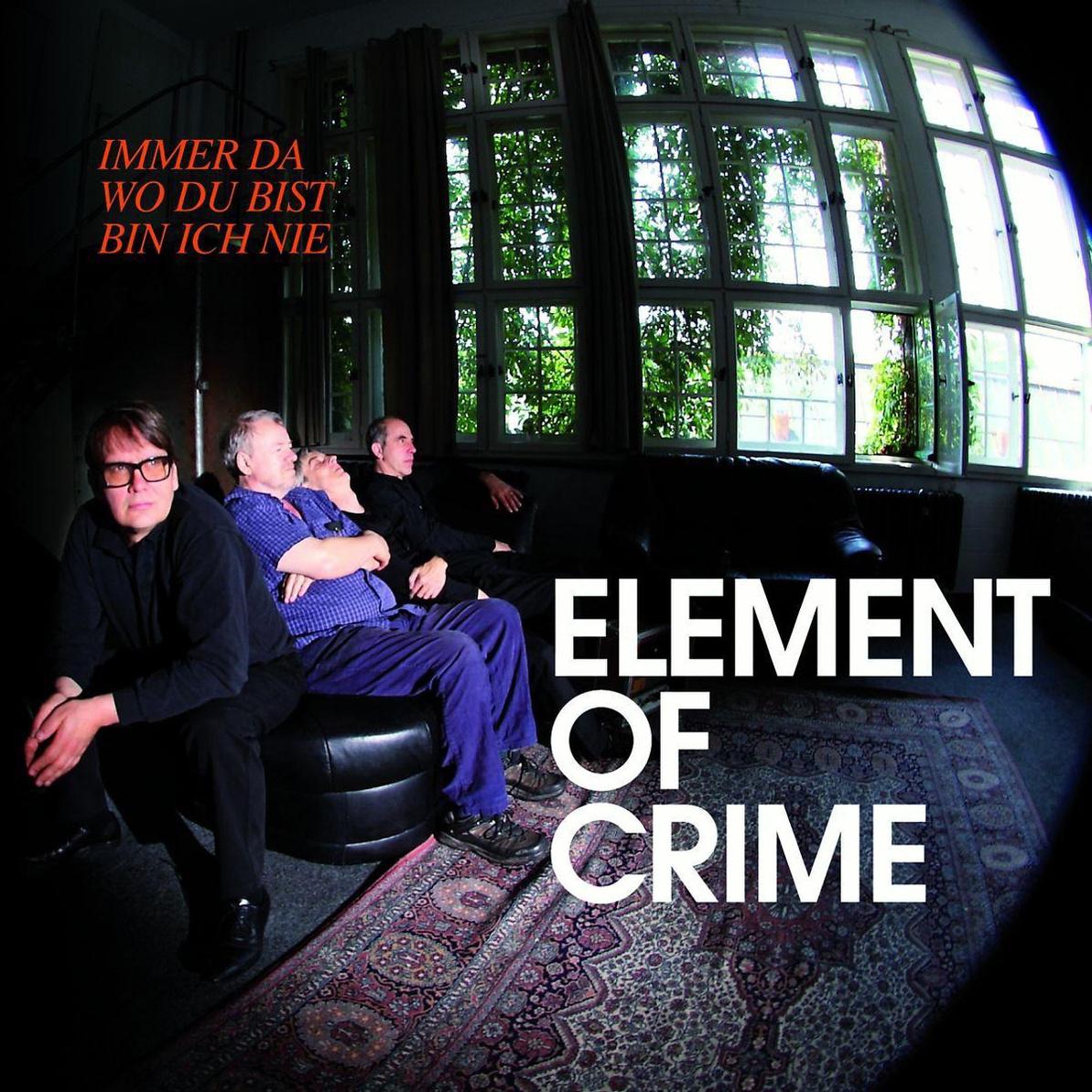 immer da wo du bist bin ich nie element of crime lp shop f r cd dvd. Black Bedroom Furniture Sets. Home Design Ideas