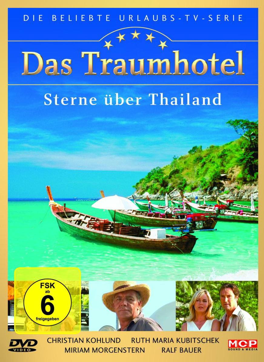 Das Traumhotel Sterne über Thailand