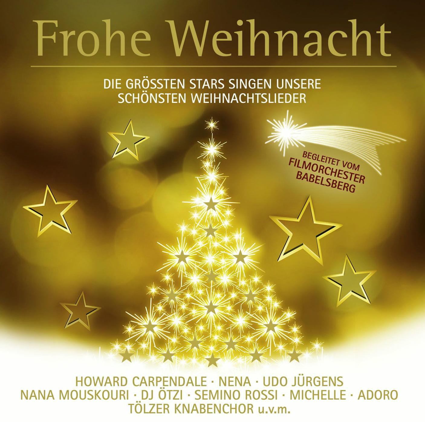 frohe weihnacht die gr ten stars singen unsere. Black Bedroom Furniture Sets. Home Design Ideas