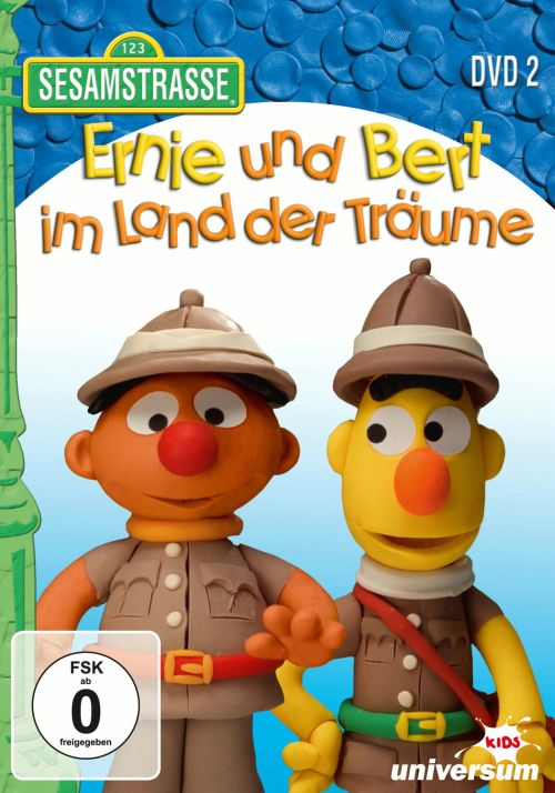 sesamstra e ernie und bert im land der tr ume dvd 2. Black Bedroom Furniture Sets. Home Design Ideas