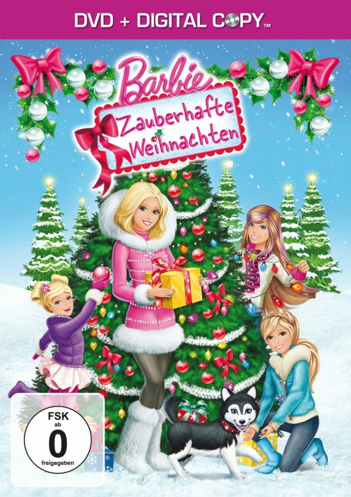 barbie zauberhafte weihnachten limited editon inkl. Black Bedroom Furniture Sets. Home Design Ideas