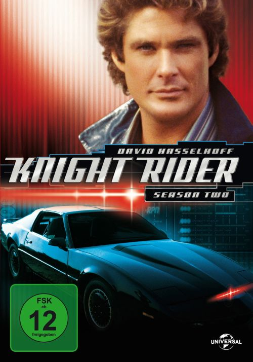 Cover - Knight Rider - Season 2 (6 DVDs)