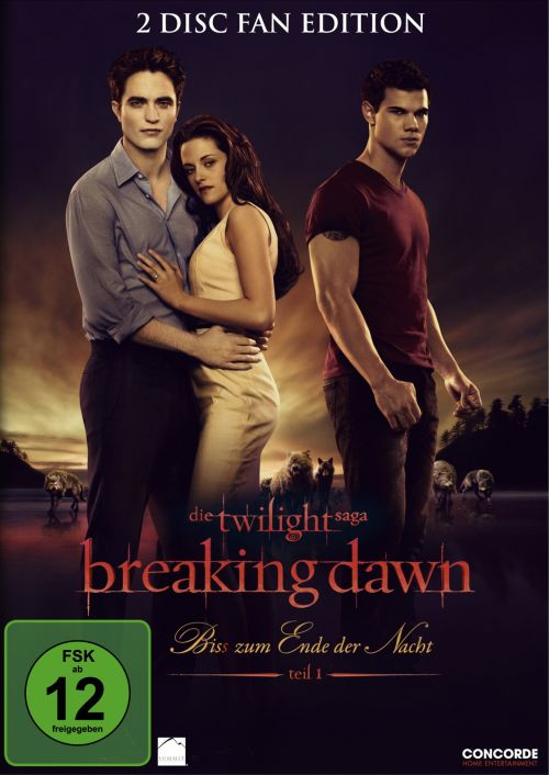 EuroVideo Breaking Dawn - Biss zum Ende der Nacht, Teil 1 (2-Disc Fan Edition) [2x DVD]