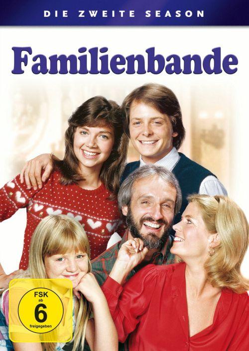 Cover - Familienbande - Die zweite Season (4 Discs)