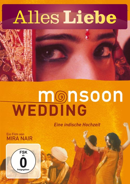 monsoon wedding alles liebe mira nair dvd www
