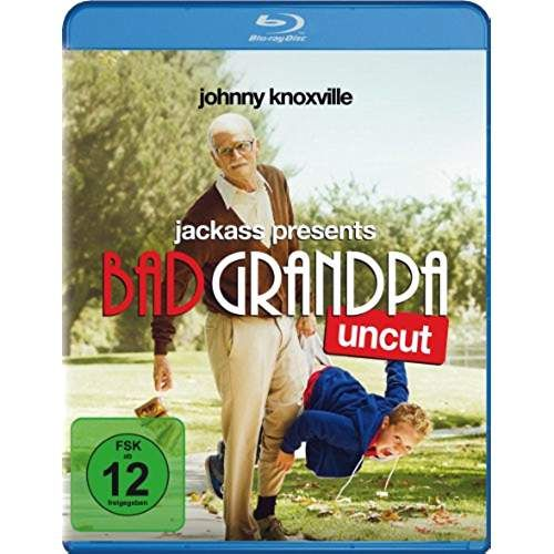 Cover - Jackass Presents Bad Grandpa  Uncut Bad Grandpa Dvd Cover