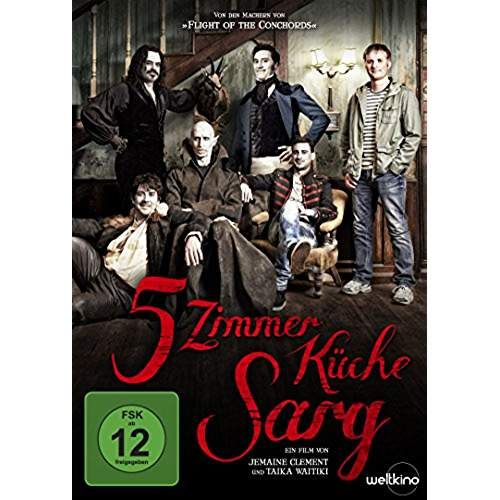 5 zimmer k che sarg taika waititi jemaine clement dvd shop f r cd. Black Bedroom Furniture Sets. Home Design Ideas