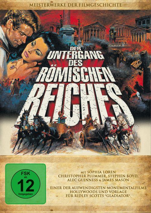 Der Untergang des Römischen Reiches - Anthony Mann - DVD - www ...