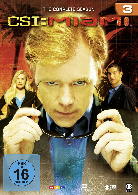 Amy Laughlin Csi Miami csi: miami - season 3 (6 dvds) - joe chappelle, scott