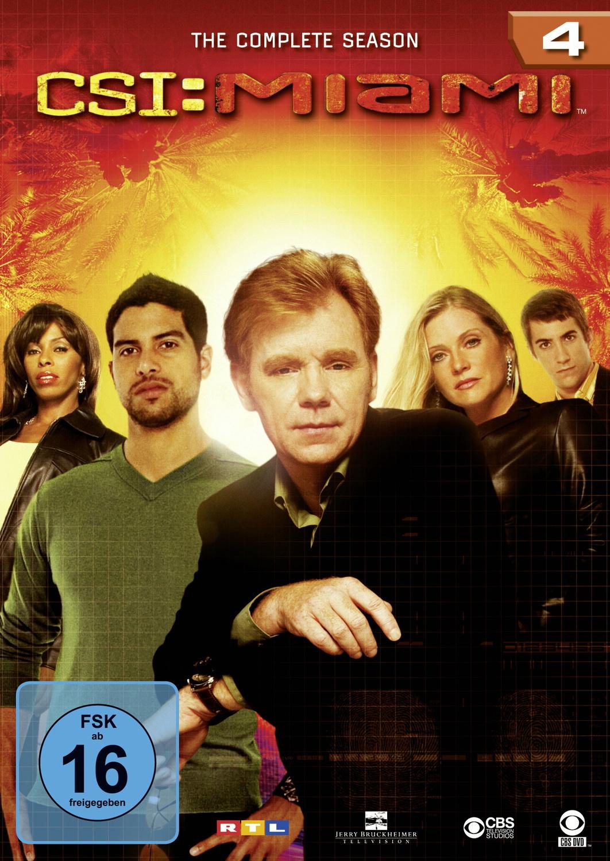 Amy Laughlin Csi Miami csi: miami - season 4 (6 dvds) - joe chappelle, sam hill